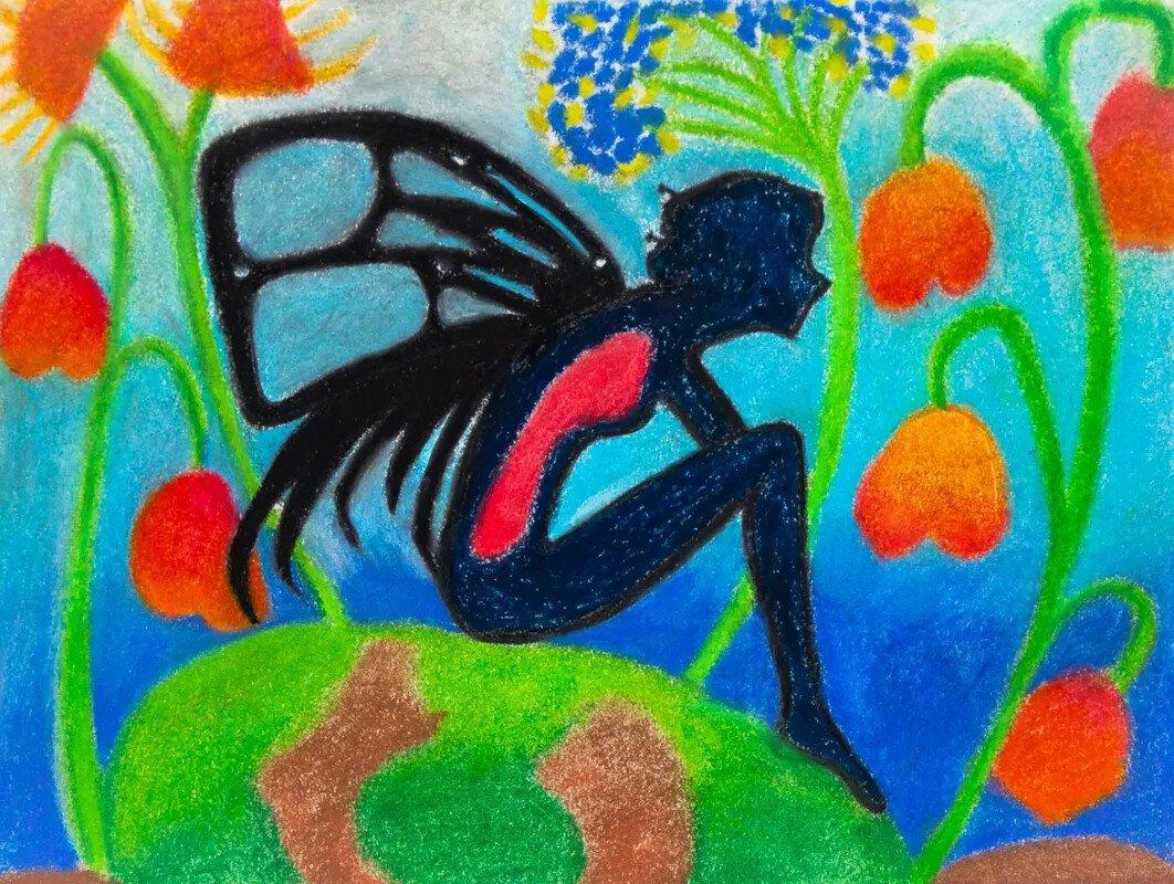 Blue Baby Fairy