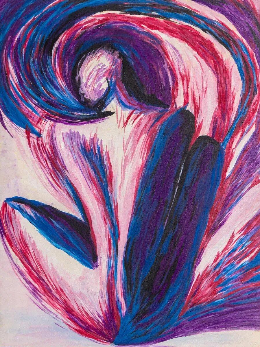 Courage 12x16 Acrylic
