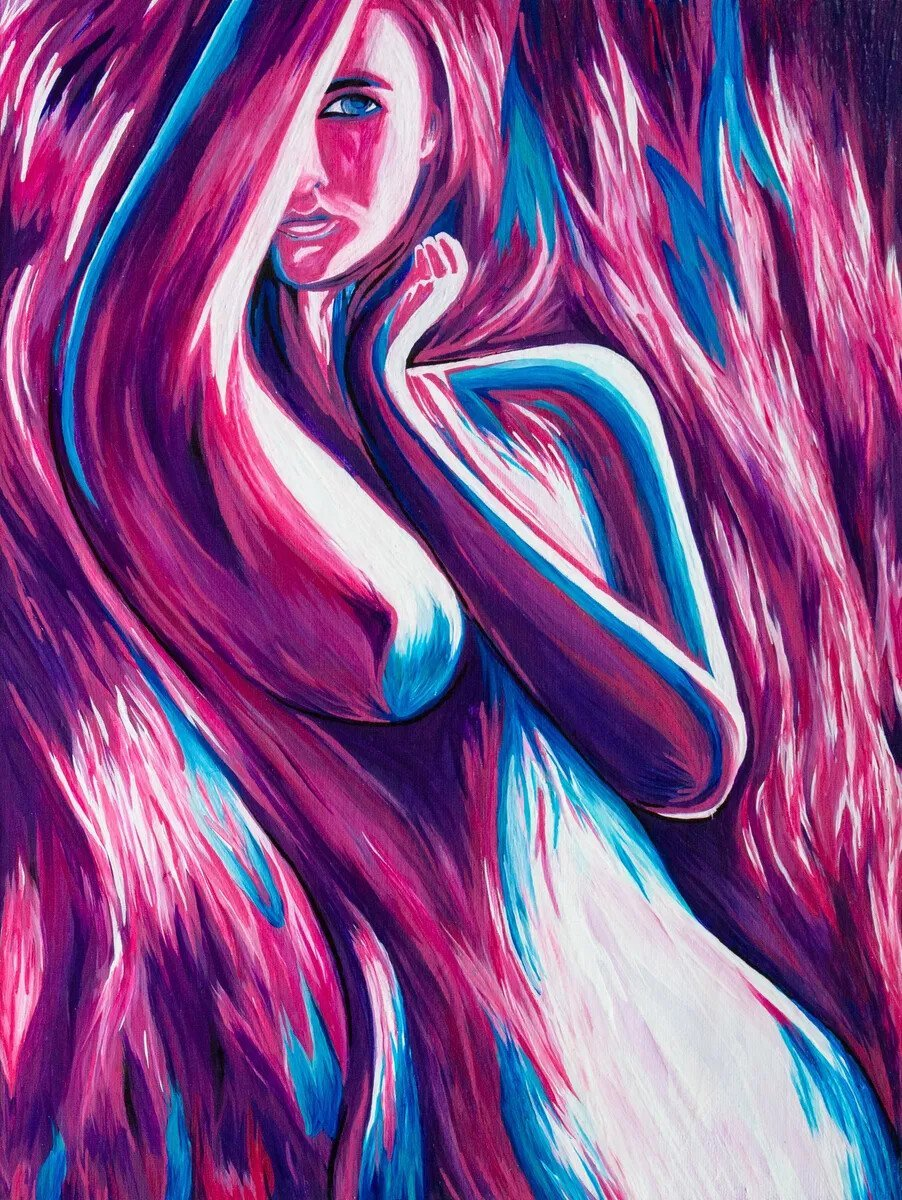"Desire (12x16"" Acrylic)"