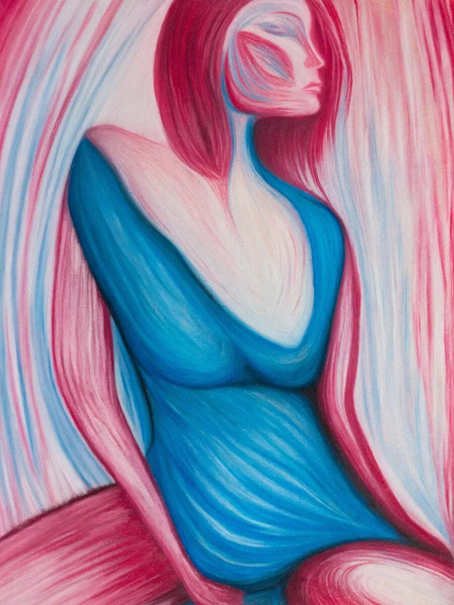 Woman made of Fire and Ice VI